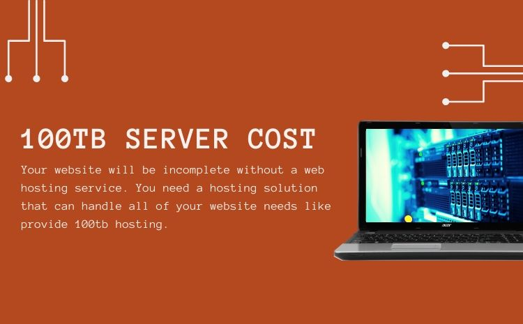 cheapest 100tb server